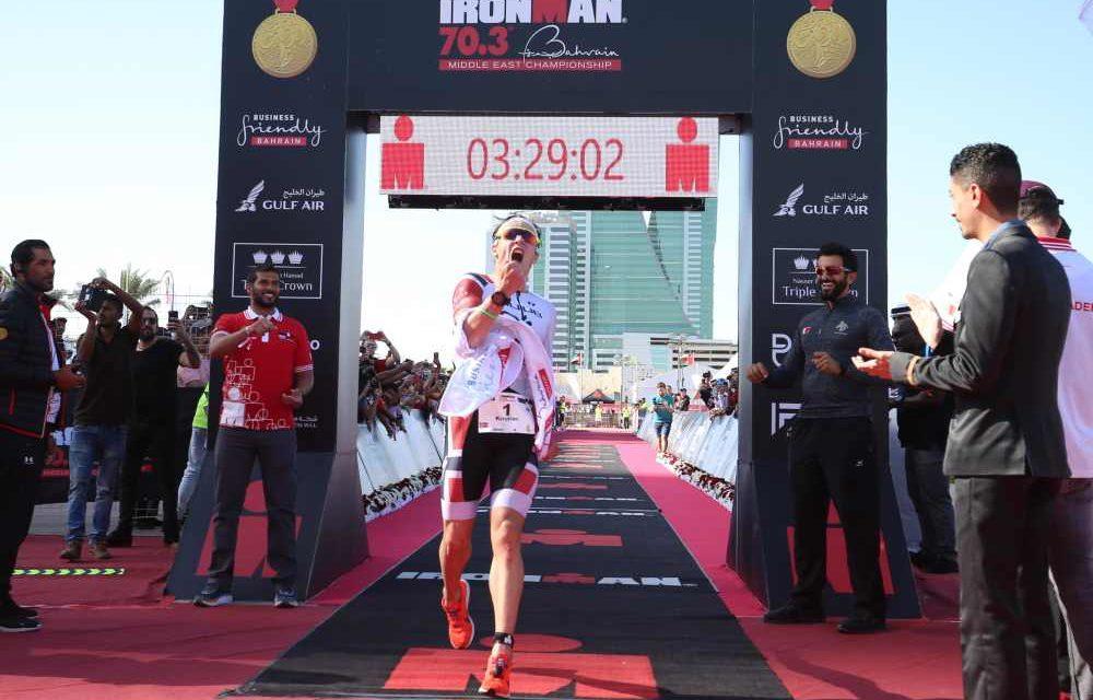 Kristian Blummenfelt vola! E' record mondiale all'Ironman 70.3 in Bahrain