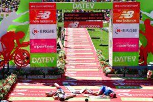 La tedesca Daniela Sammler batte di 9 secondi soltanto la britannica Lucy Charles e fa suo il Challenge Roth 2018 (Foto ©Getty Images Europe)