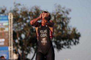 La britannica Vicky Holland si aggiudica il titolo mondiale ITU 2018 di triathlon (Foto ©ITU Media / Wagner Araujo)