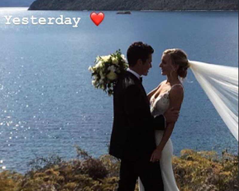 Javier Gomez e Anneke Jenkins, oggi sposi