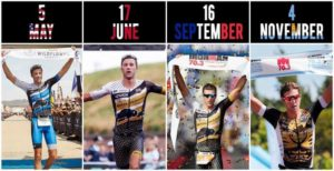 Wildflower, Ironman 70.3 European Championship, Ironman 70.3 Nice e Ironman 70.3 Argentina: ecco le quattro perle del 2018 di Rudy Von Berg.