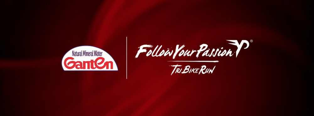 Follow Your Passion diventa il circuito TriBikeRun da bere tutto d'un fiato. Il merito? È di Ganten Water