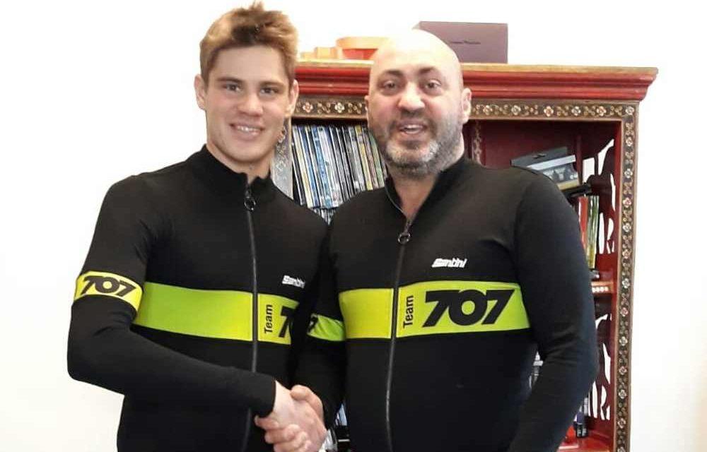 Marcello Ugazio vola e… veste la maglia del 707 Triathlon Team