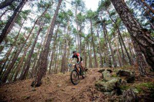 Il percorso in mountain bike dell'XTERRA Czech si sviluppa all'interno della Selva Boema, tra ripide salite e discese molto tecniche.