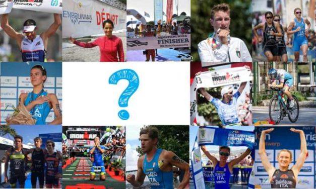 """""""The Best of 2018"""": i top 20 del triathlon italiano. La redazione ne ha scelti 19. Per il ventesimo la parola va ai lettori"""