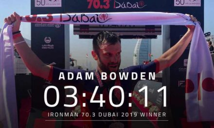 Holly Lawrence e Adam Bowden vincono l'Ironman 70.3 Dubai 2019