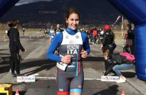 Giulia Renzini (Foligno Triathlon Winner) vince il 4^ Duathlon del Drago il 3 febbraio 2019.