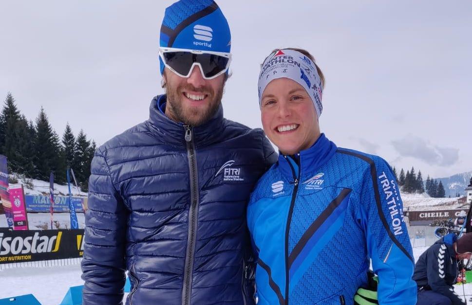Europei di winter triathlon 2019: nella seconda giornata l'Italia si aggiudica il bronzo nella 2×2 Mixed Relay. Gli Age Group azzurri conquistano un primo e due terzi posti