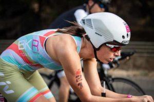 La ceca Radka Kahlefeldt vince l'Ironman 70.3 Geelong 2019 (Foto ©Tim Bardsley-Smith)