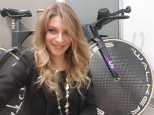 Vittoria Bussi, prima donna nella storia a superare i 48 chilometri nella prova individuale del record dell'ora femminile di ciclismo, correrà la Chia Sardinia Granfondo 2019.
