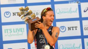 La britannica Vicky Holland è l'atleta dell'anno secondo l'ETU (Foto ©ITU Media / Tommy Zaferes).