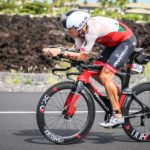 L'australiano Cameron Wurf in azione all'Ironman Hawaii World Championship 2018 a Kona (Foto: Pic from: Activ'images photos et vidéos)