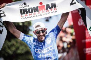 Grandissimo Alessandro Degasperi: vince l'Ironman Lanzarote 2018.