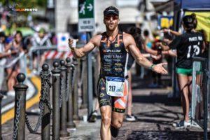 L'attore e conduttore TV Dino Lanaro sarà uno dei protagonisti del Triathlon Show Italy 2019 (Foto ©HLM Photo).