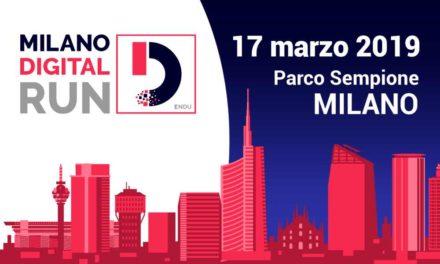 La Milano Digital Run sta arrivando: domenica 17 marzo, l'appuntamento è al Parco Sempione per correre la 10K o la 5K