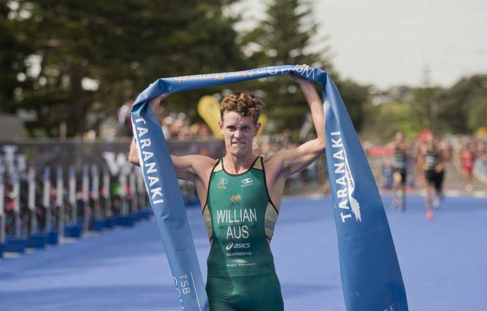 L'australiano Luke Willian vince la tappa di Coppa del Mondo di triathlon a New Plymouth