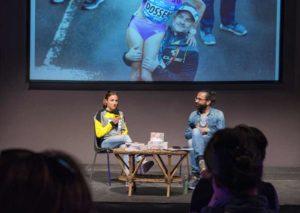 """Sara Dossena parla di sé e del suo libro """"Io, fenice"""" (Foto ©FCZ.it Mondo Triathlon / Roberto Del Bianco)."""