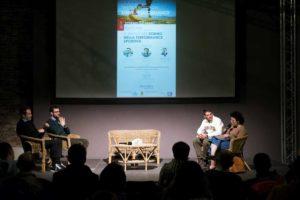 """Alessandro Degasperi, Costantino Bertucelli e Jacopo Vitale parlano di """"Sleep & Performance"""" (Foto ©FCZ.it Mondo Triathlon / Roberto Del Bianco)."""