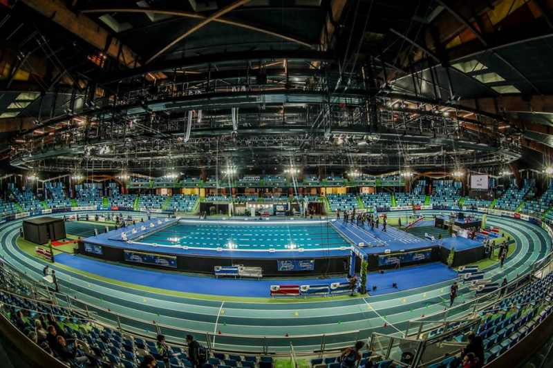 Il video della prima tappa di Coppa Europa di triathlon indoor, corsa a Lievin in Francia