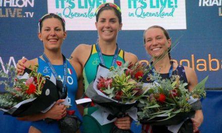 Angelica Olmo è splendida terza nella Coppa del mondo di triathlon a Mooloolaba. Vincono l'australiana Ashleigh Gentle e il canadese Tyler Mislawchuk