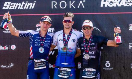 Jocelyn McCauley e Mike Phillips vincono, sorprendendo, l'Ironman New Zealand