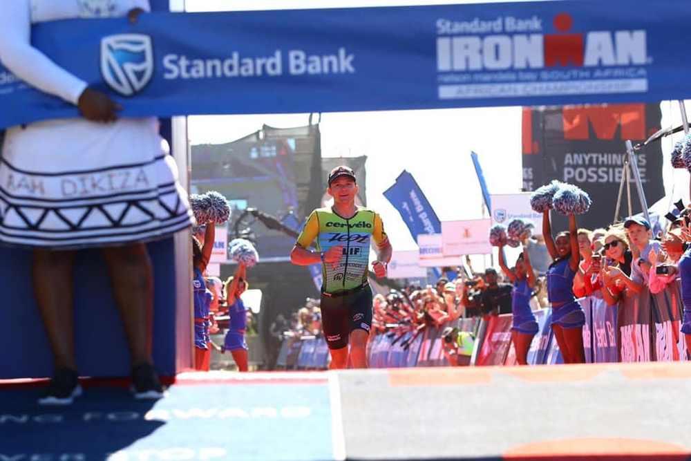 Lo statunitense Ben Hoffman, il 7 aprile 2019, vince per la terza volta l'Ironman African Championship South Africa.