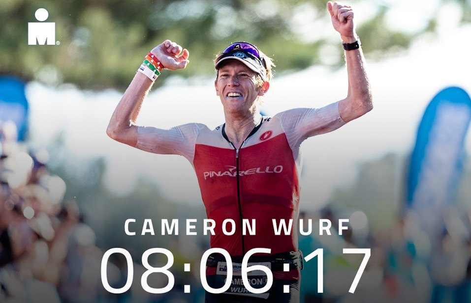 Cameron Wurf: è vittoria a suon di record all'Ironman Australia