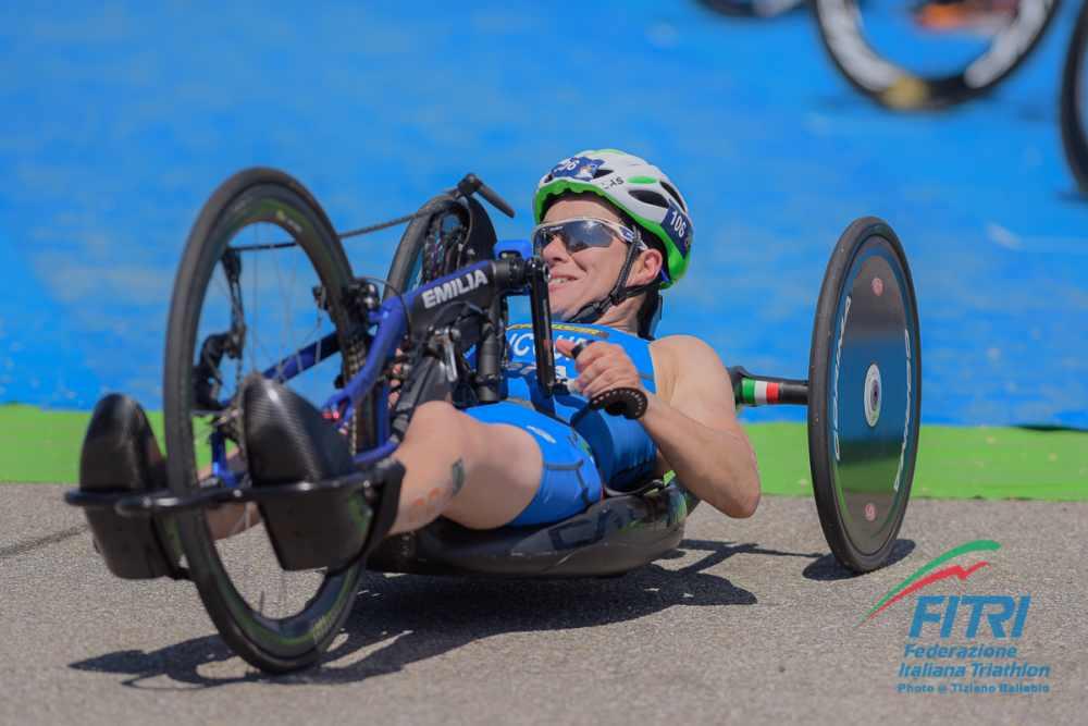 Rita Cuccuru, ITU World Paratriathlon Series Milano 2019