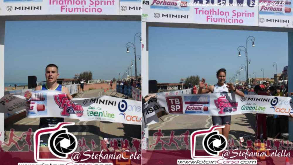 2019-04-25 Triathlon Sprint Fiumicino