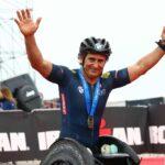 ... E per Alex Zanardi è double! Dopo il traguardo dell'Ironman Italy di sabato 21 settembre, il campionissimo bolognese taglia quello dell'Ironman 70.3 Italy corso il giorno dopo, domenica 22.