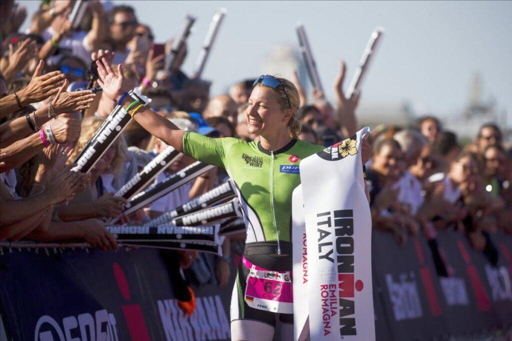 Caroline Lehrieder vince l'Ironma Italy Emilia Romagna 2019