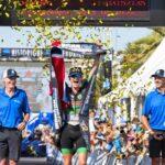 Gustav Iden vince l'Ironman 70.3 World Championship 2019 a Nizza (Foto ©Roberto Del Bianco).