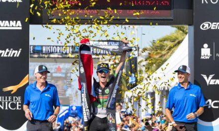 Gustav Iden incredibile all'Ironman 70.3 World Championship di Nizza