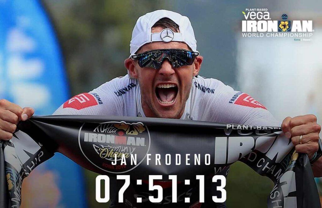 Jan Frodeno vince l'Ironman Hawaii World Championship 2019 stabilendo il nuovo record!