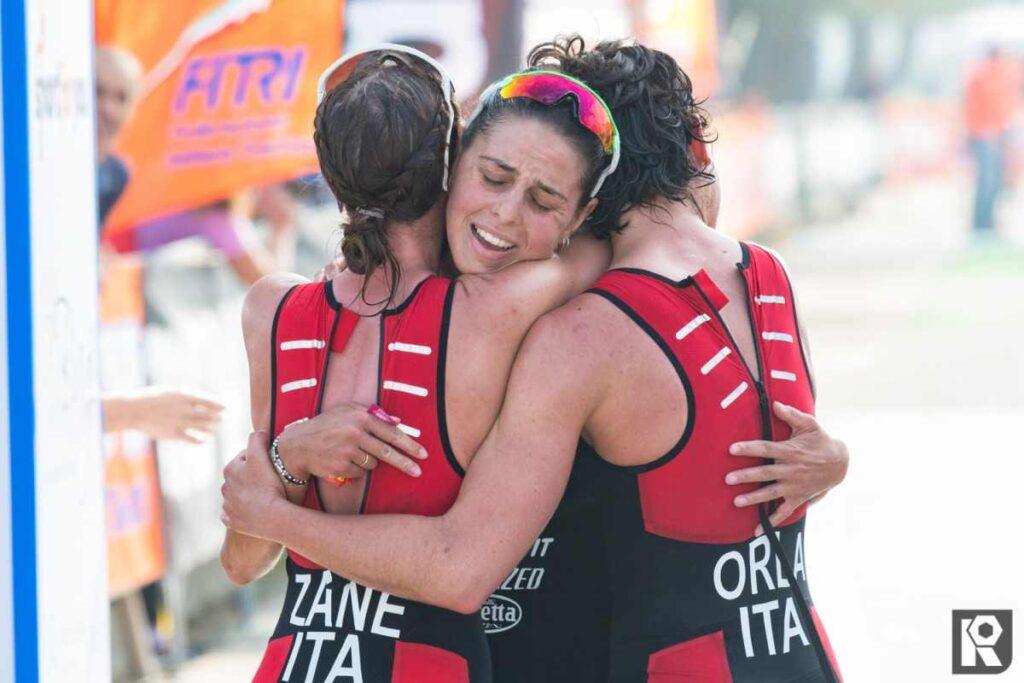 Zane Orla Iogna-Prat, la tripletta tricolore DDS agli Italiani di triathlon olimpico 2019 a Cervia