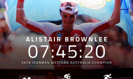 Alistair Brownlee è da record all'Ironman Western Australia 2019 e… prenota un posto per Kona 2020
