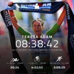 Teresa Adam vince l'Ironman Western Australia 2019 e stabilisce il nuovo record della gara.