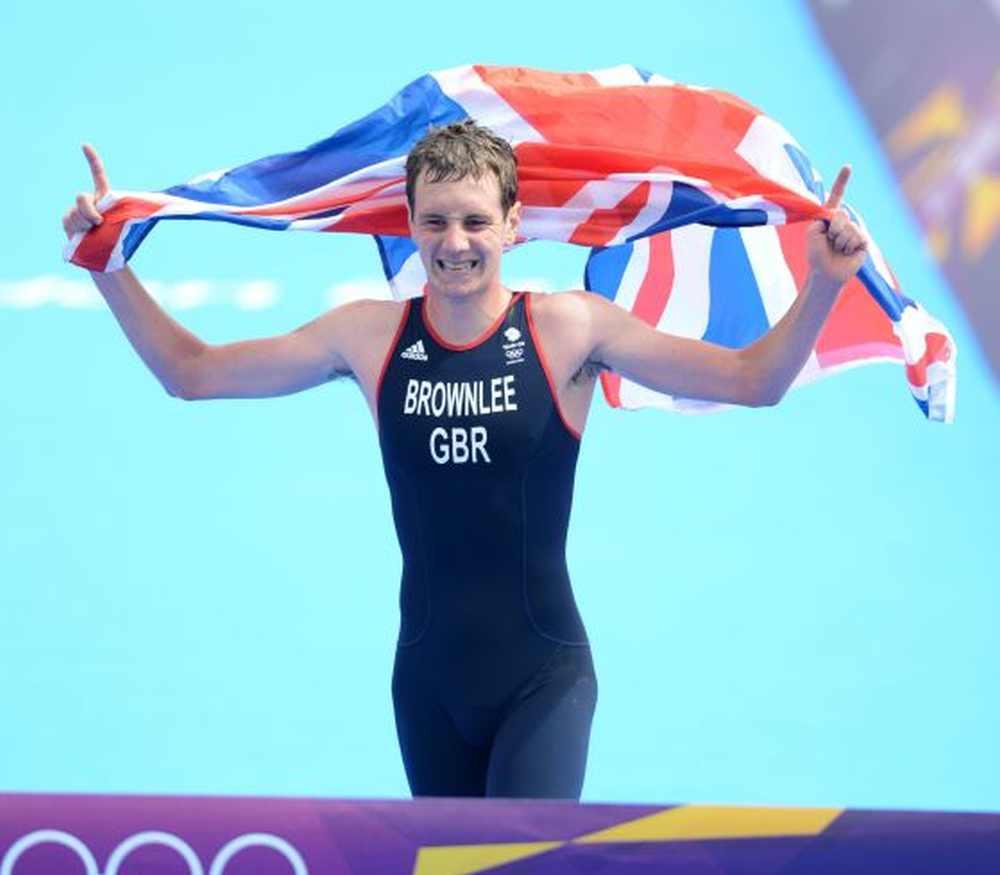 Alistair Brownlee vince il suo primo oro olimpico nei Giochi di London 2012