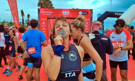 Al Barcelona Triathlon… Meravigliosa Gianna Nannini!