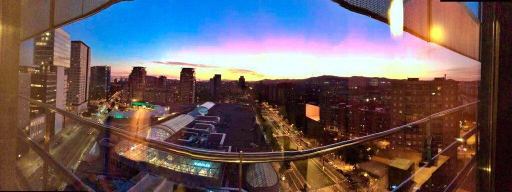 Una veduta splendida di Barcellona
