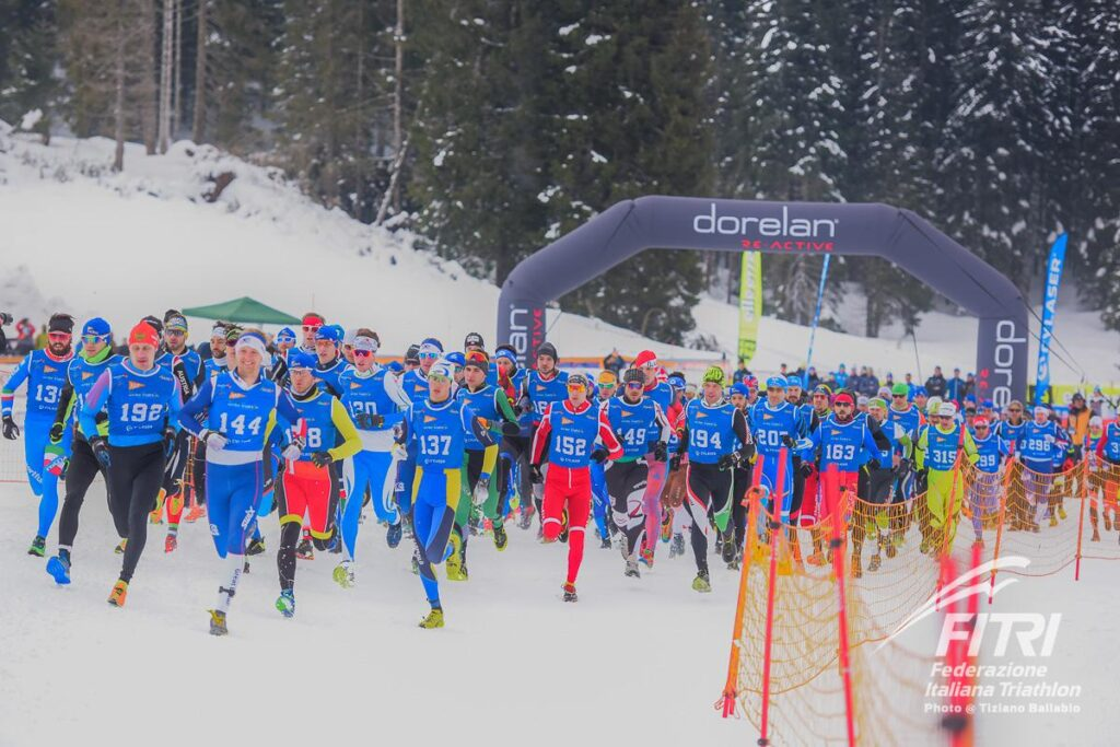 Asiago Winter Triathlon (©FiTri / Tiziano Ballabio)