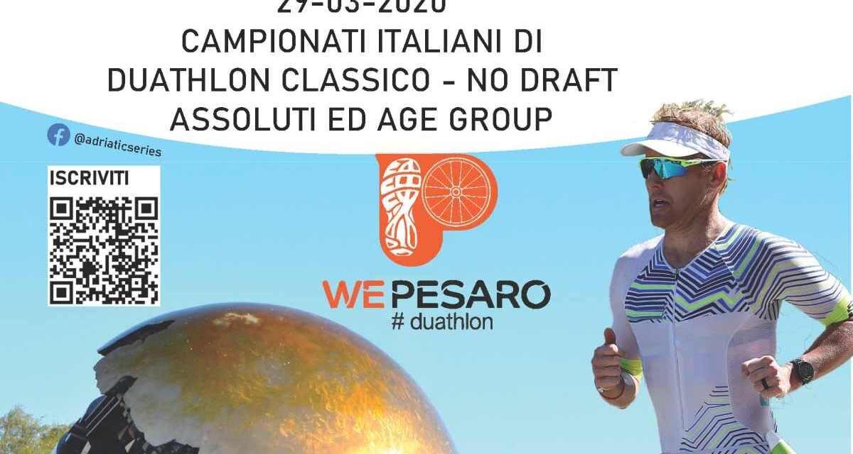 Tricolori di duathlon classico a Pesaro: ecco i percorsi
