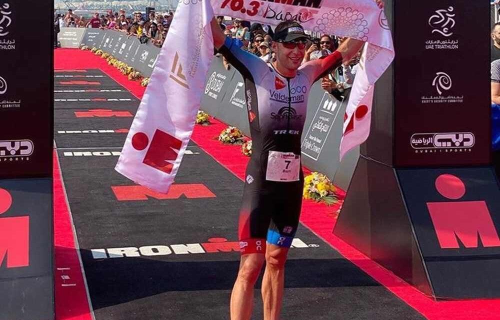 Ironman 70.3 Dubai: le vittorie di Simmonds e Aernouts sono da record!