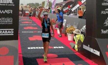 Alessia, Marco e Zio Valerio protagonisti all'Ironman 70.3 Oman