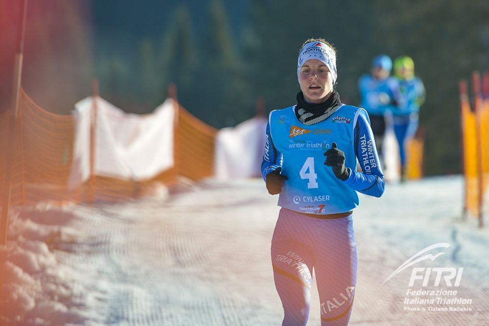 Sandra Mairhofer Mondiali Winter Triathlon 2020 Asiago