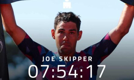 Joe Skipper e Teresa Adam vincono l'Ironman New Zealand a suon di record
