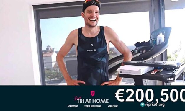 Jan Frodeno, what else? L'impresa del tedesco: corre un Ironman in casa e raccoglie 200.500 euro