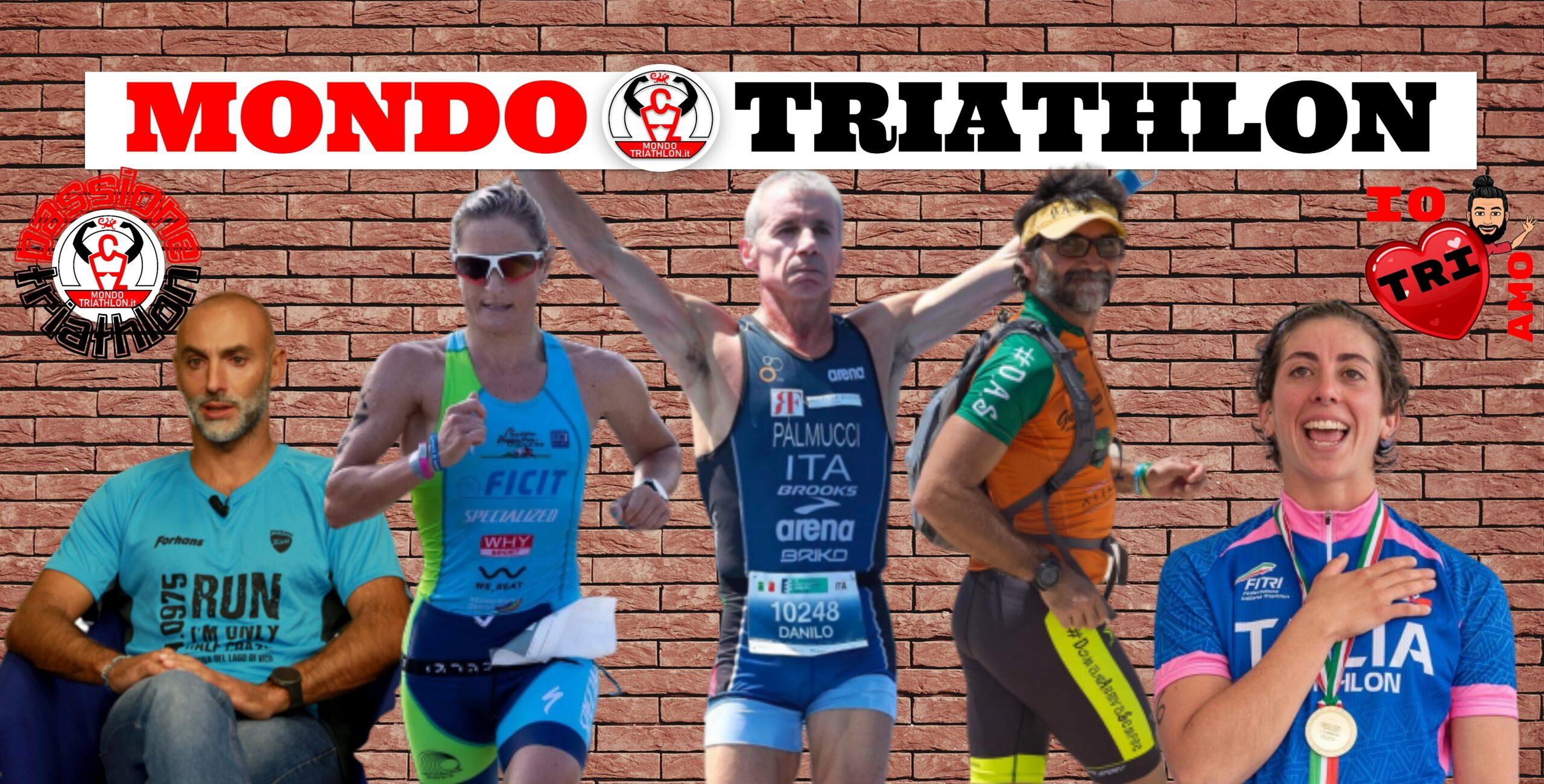 Passione Triathlon 4-8 maggio 2020: Danilo Palmucci, Alessia Orla, Gianluca Calfapietra, Martina Dogana, Andrea Pelo Di Giorgio