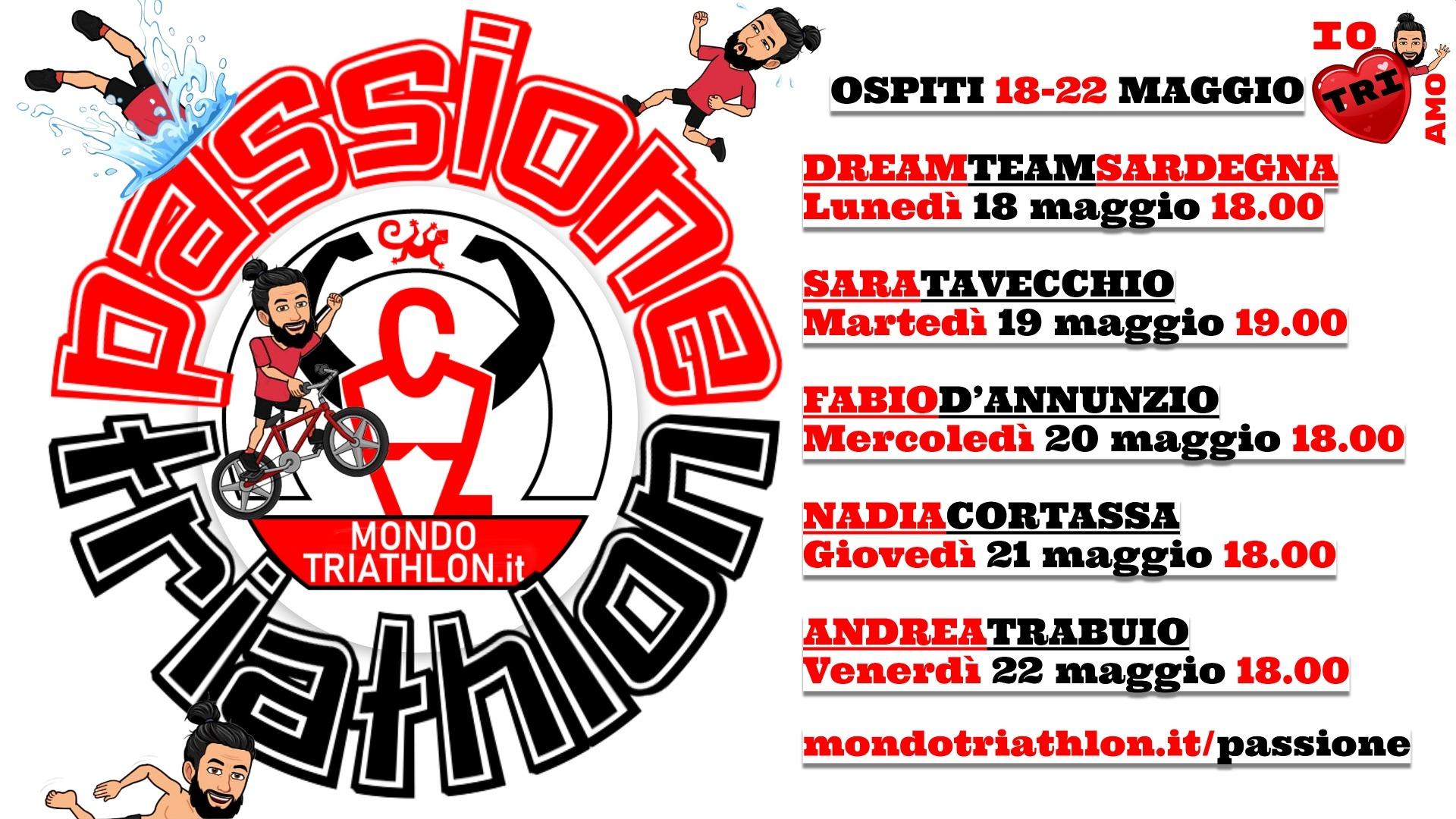 Passione Triathlon Programma Settimana 18-22 maggio 2020