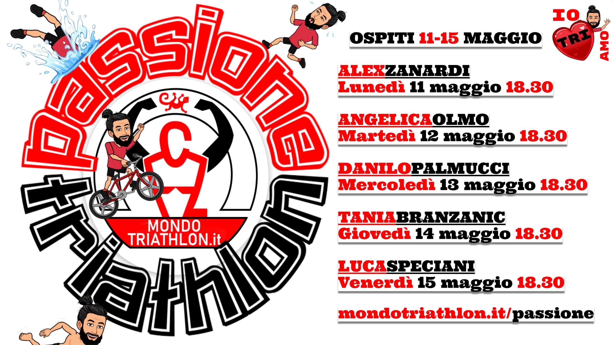 Passione Triathlon Programma 11-15 maggio 2020